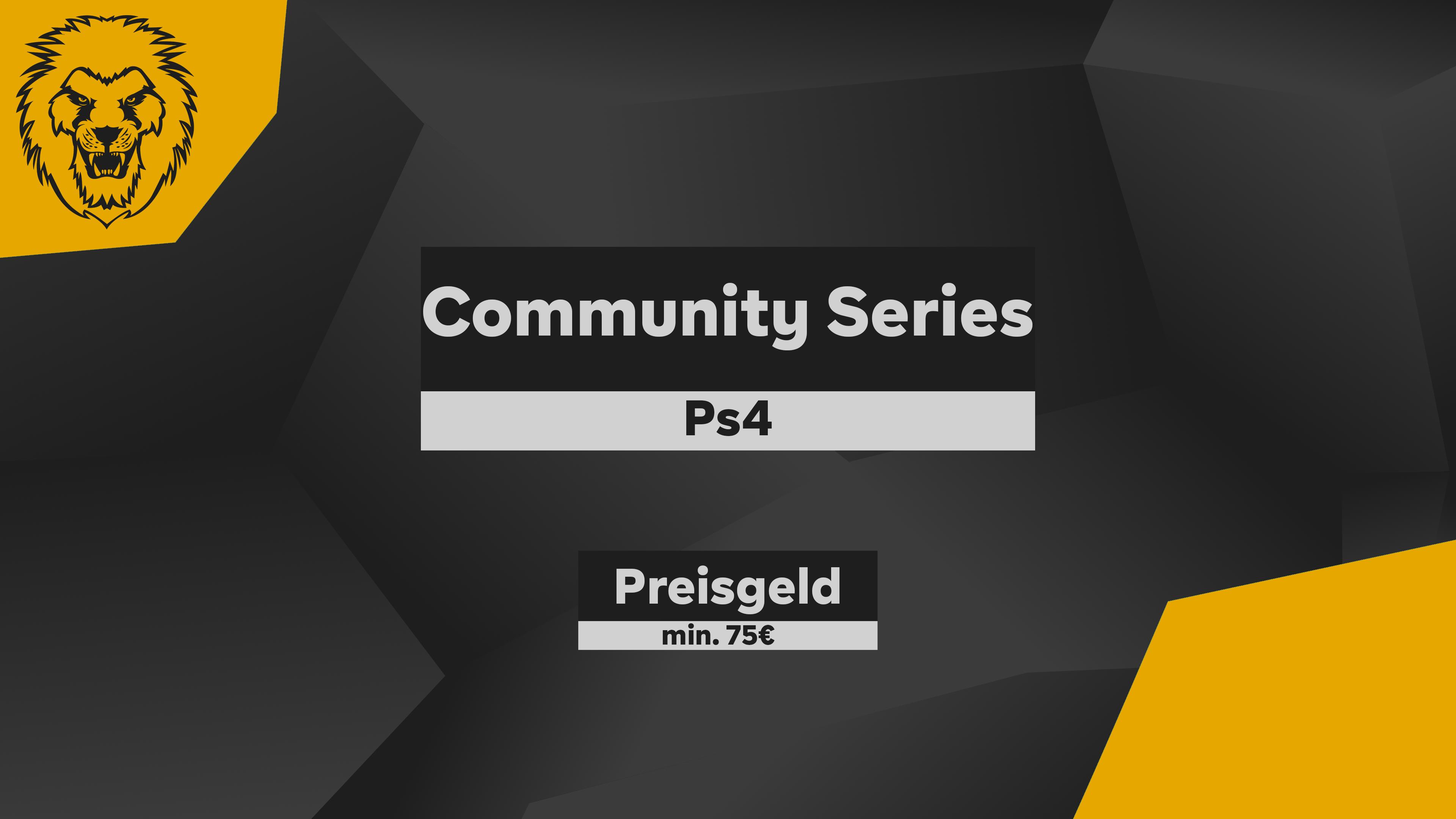 Logo Liga German Community Series #1 Ps4 RED