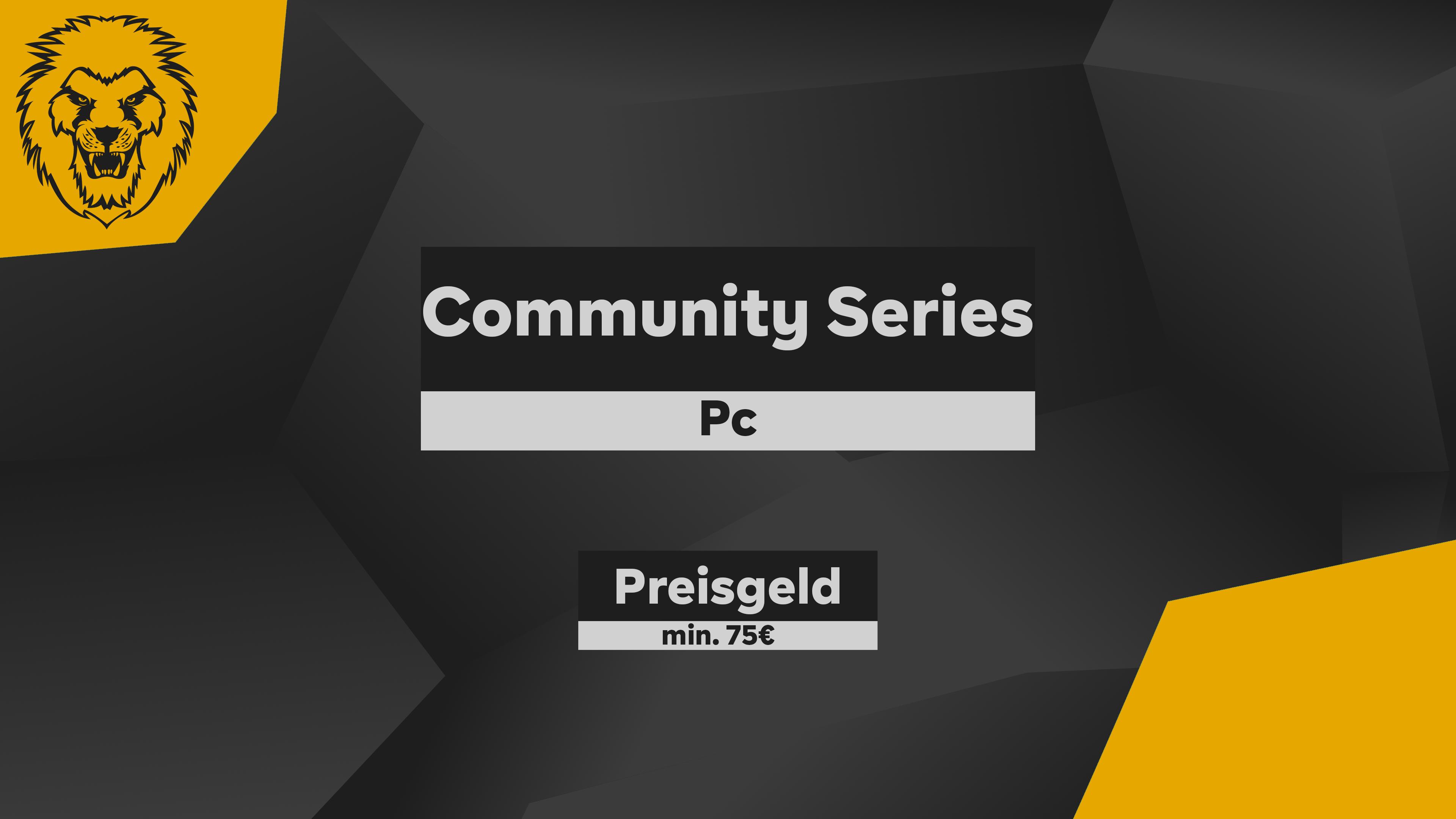 Logo Liga German Community Series #1 Pc YELLOW