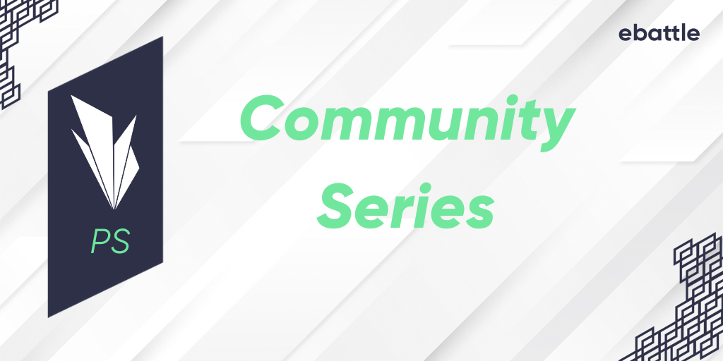 Logo Liga German Community Series #3 PS [BLACK]