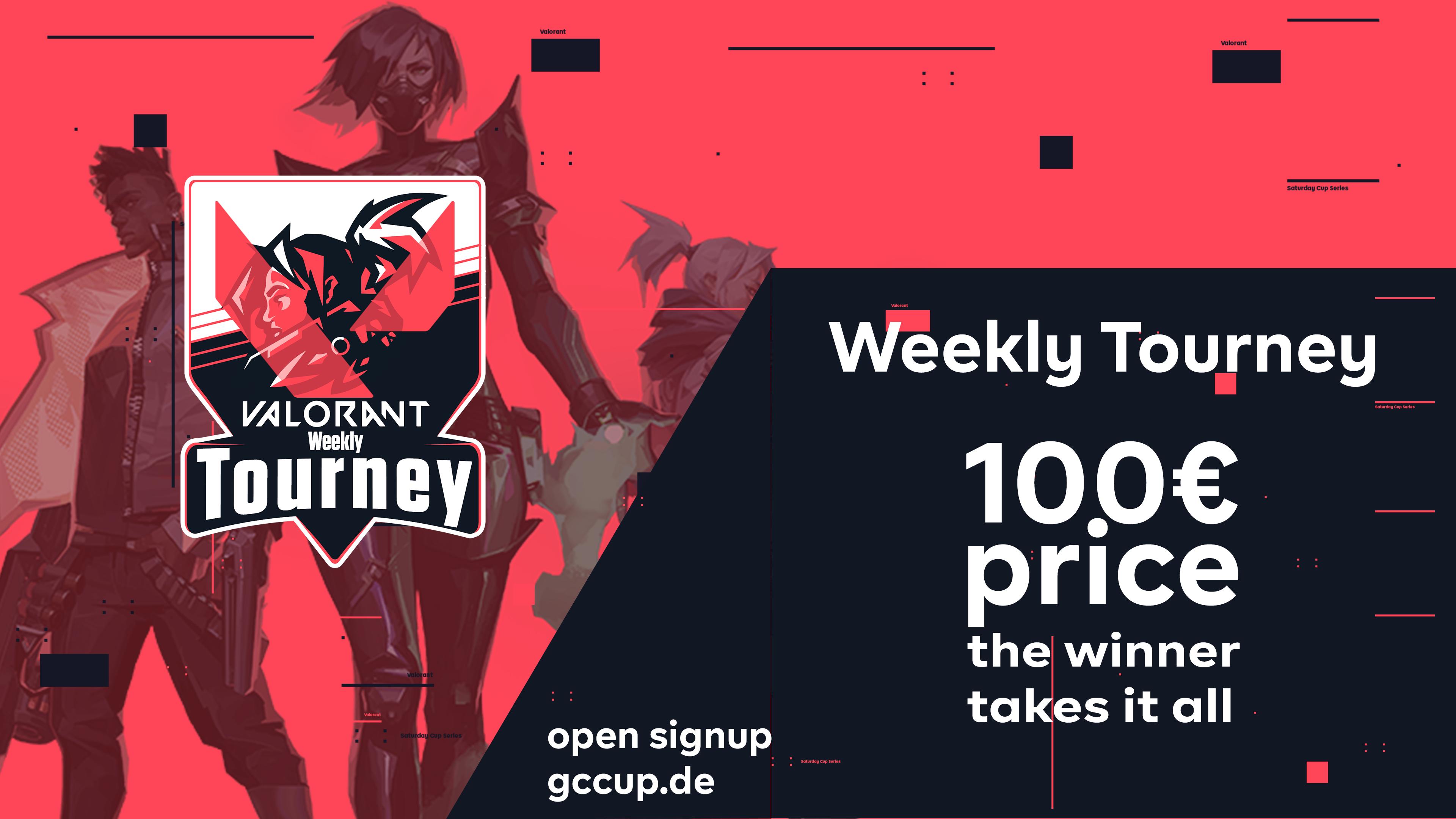 Logo Turnier Valorant Weekly Tourney #3