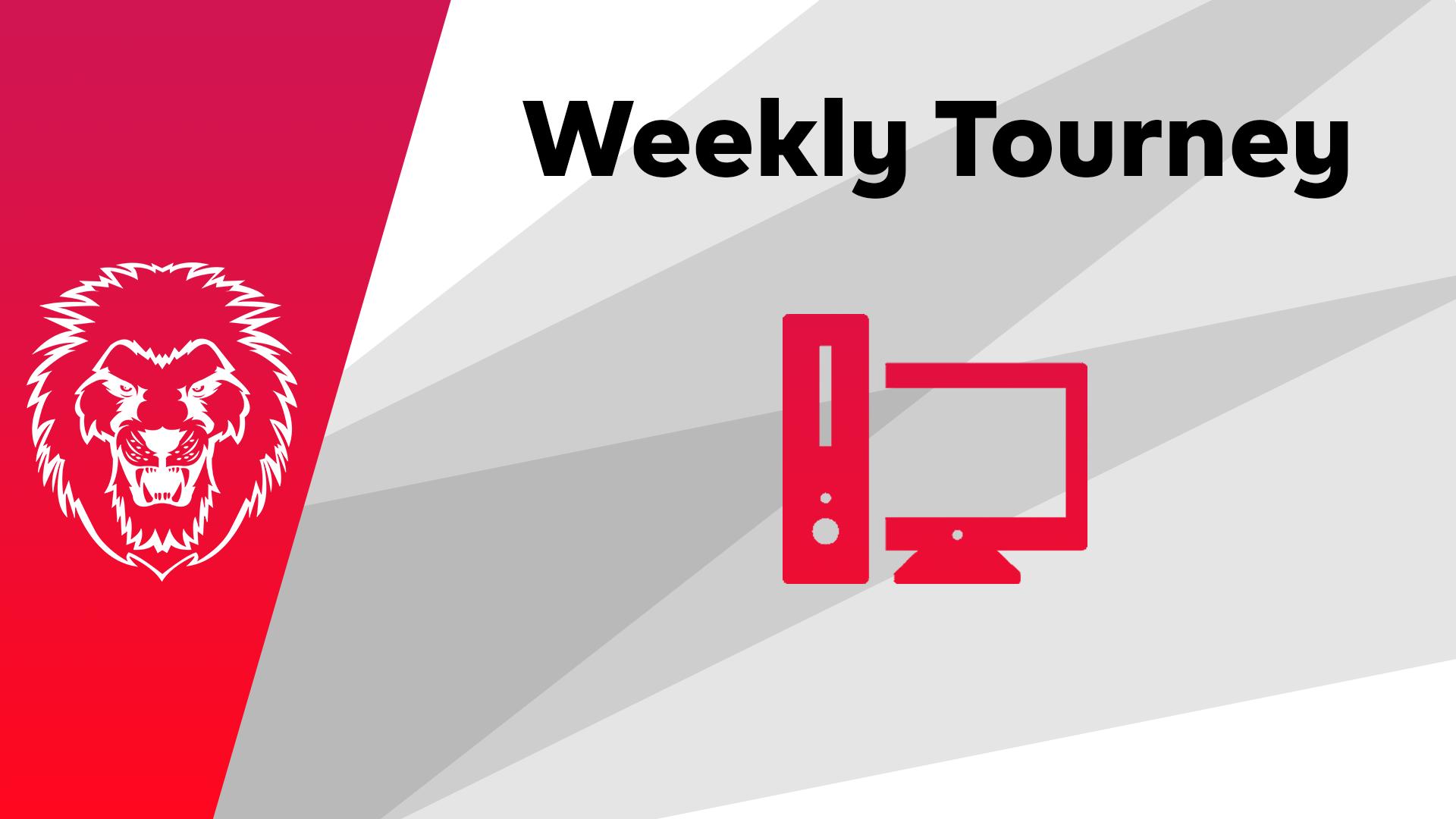 Logo Turnier Rainbow Six Weekly Tourney - PC #4