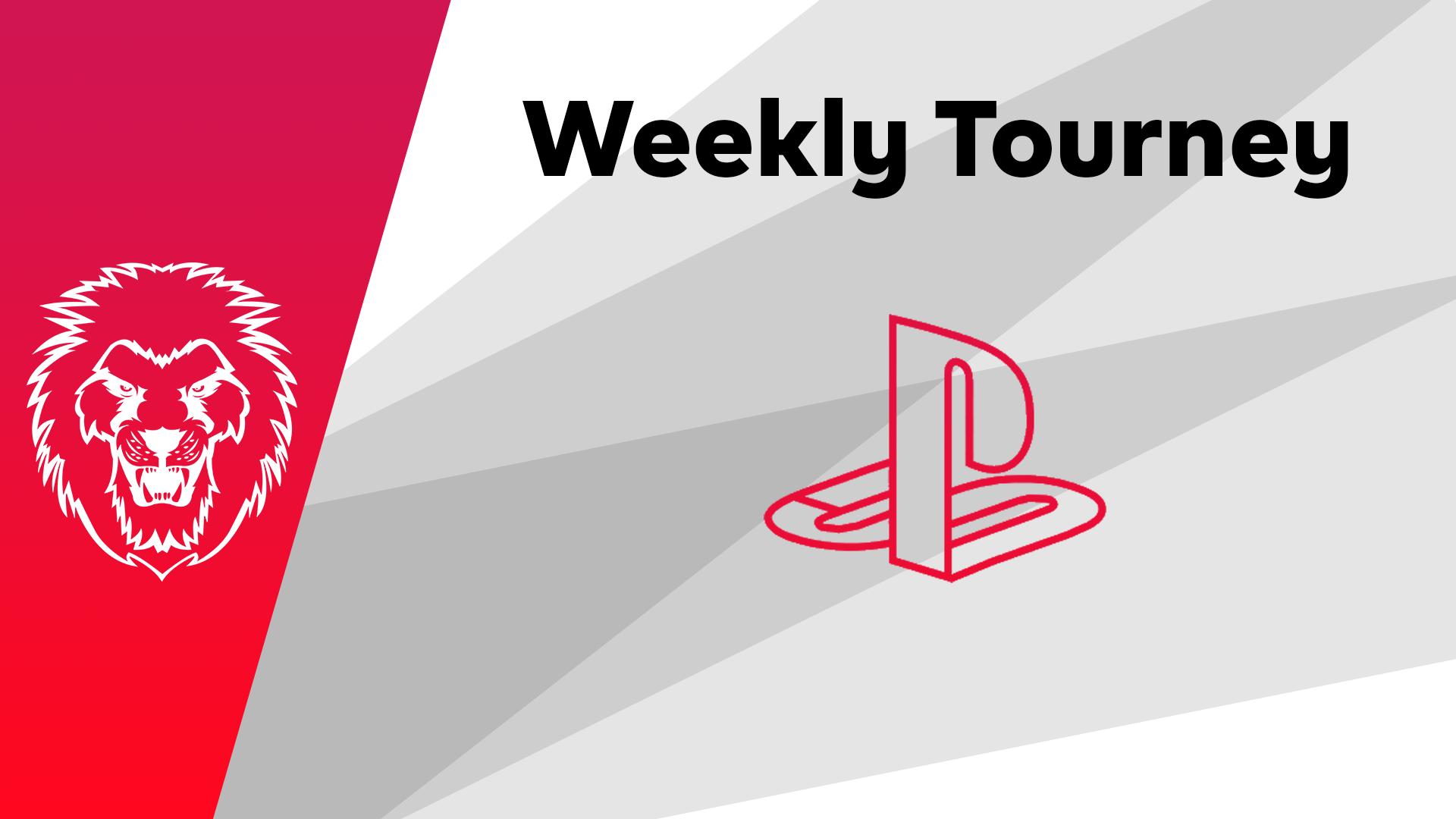 Logo Turnier Rainbow Six Weekly Tourney - Ps4 #5