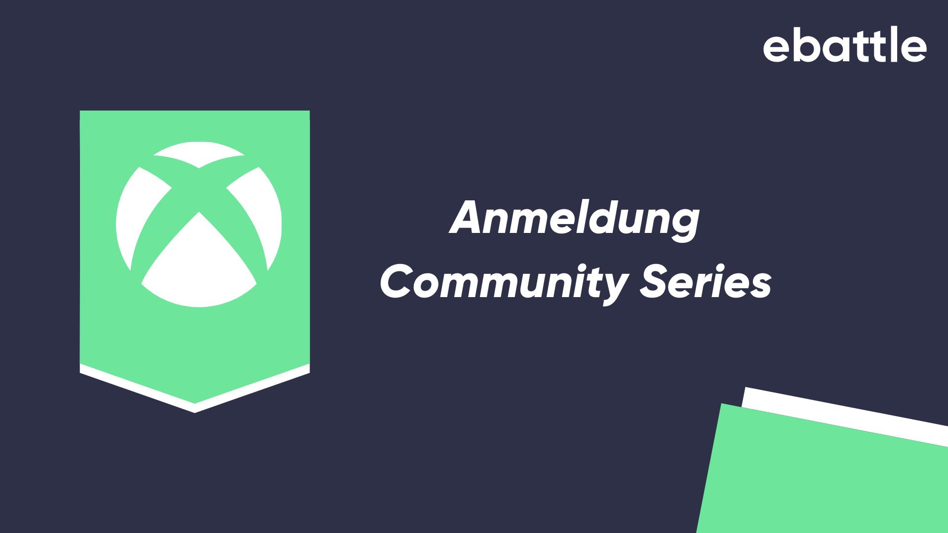 Logo Turnier Anmeldung Community Series XBOX