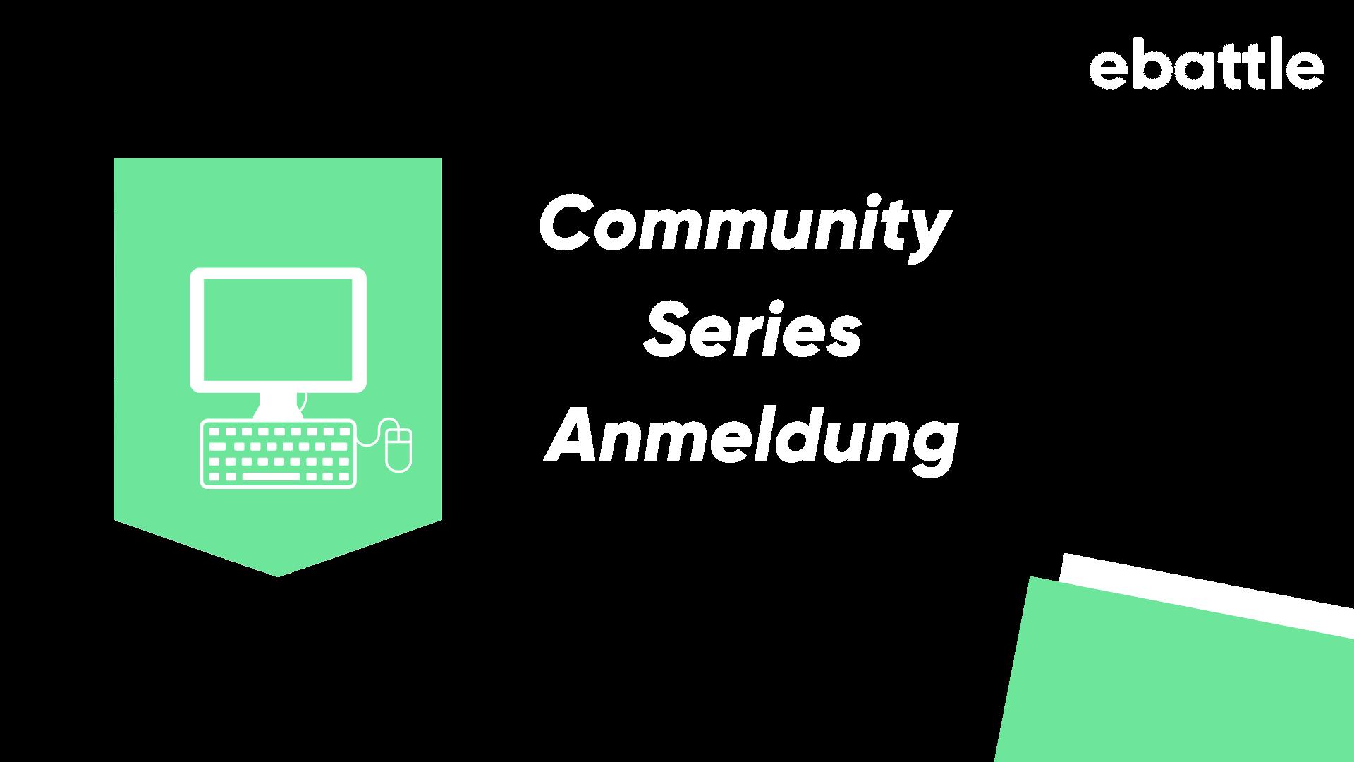 Logo Turnier Anmeldung Community Series PC