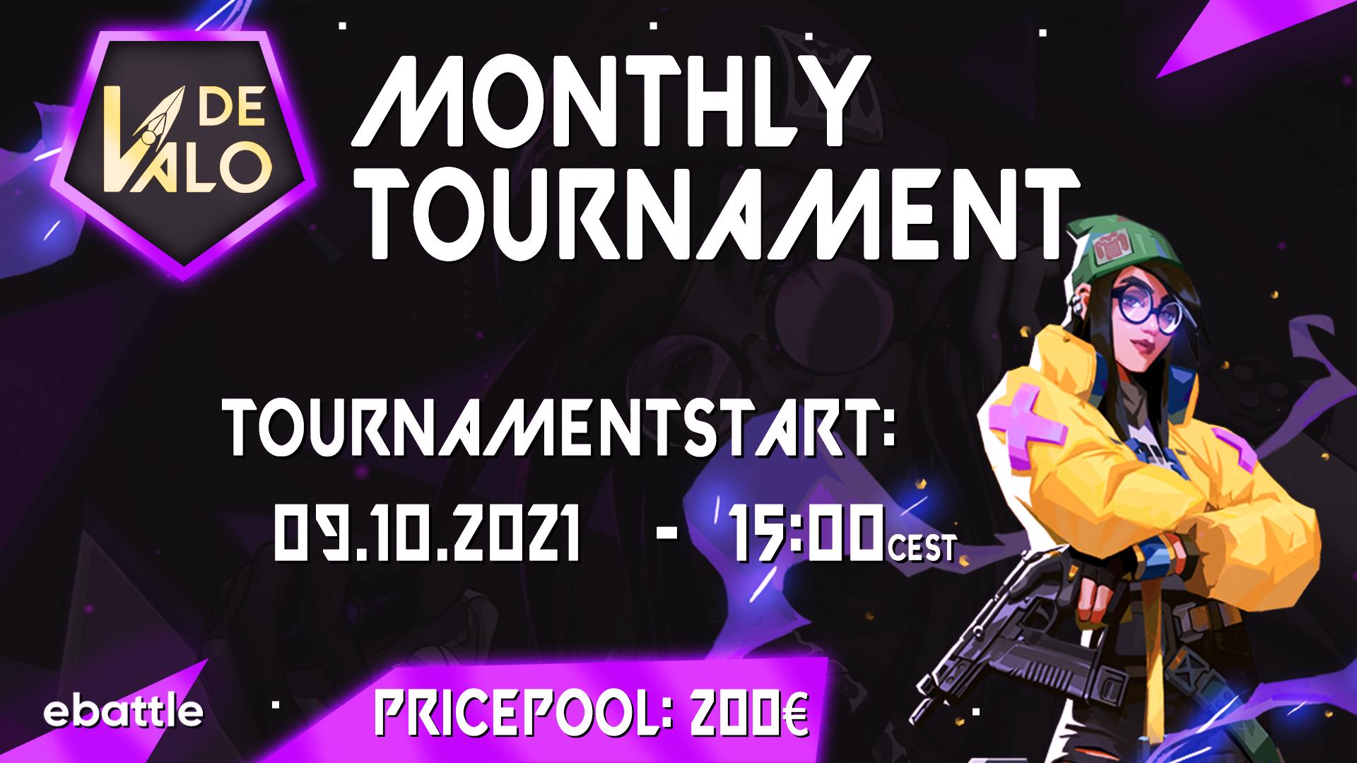 Logo Turnier Valorant Monthly Tourney #6