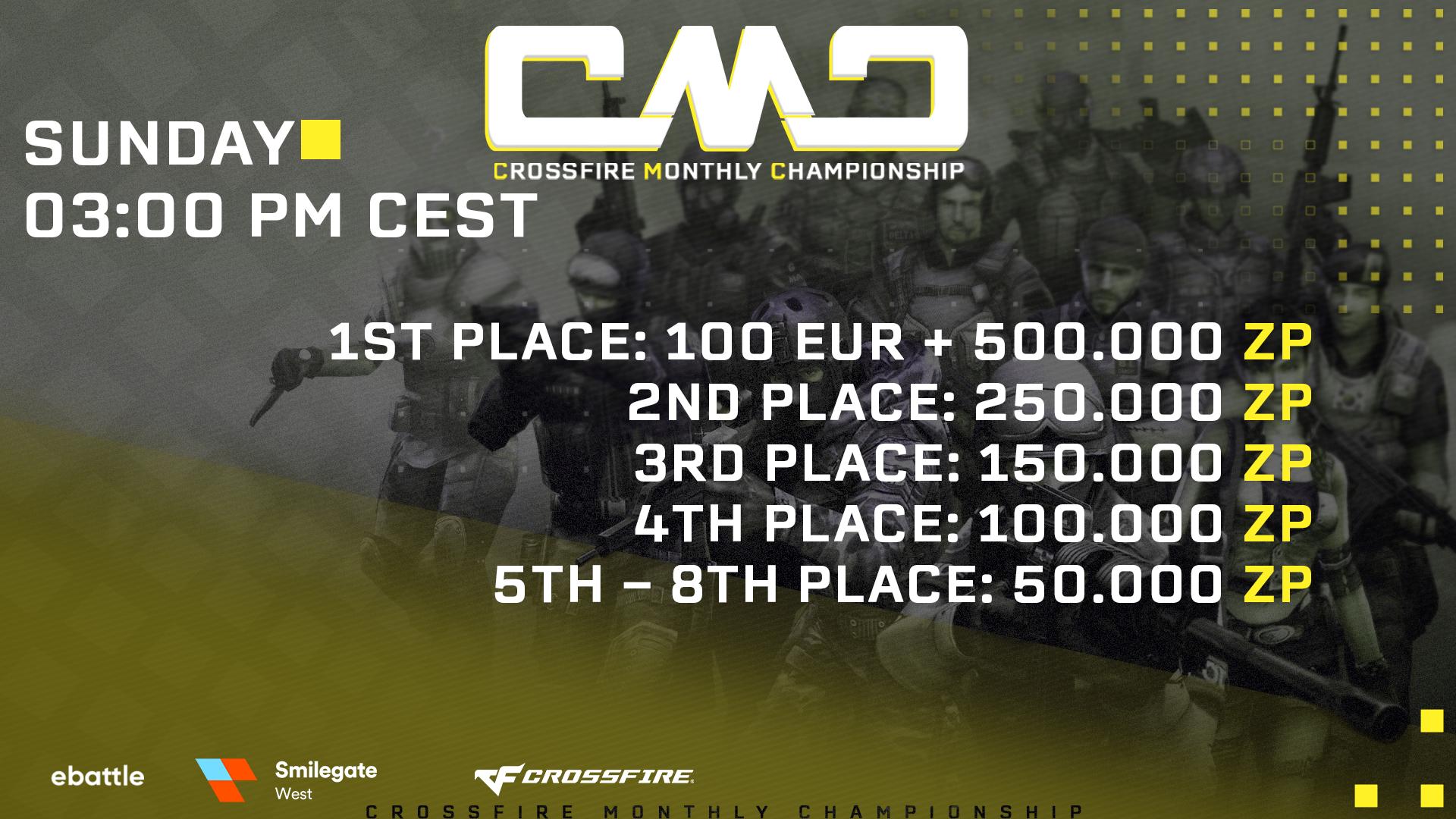 Logo Turnier Crossfire Monthly Championship #1 - Season #2