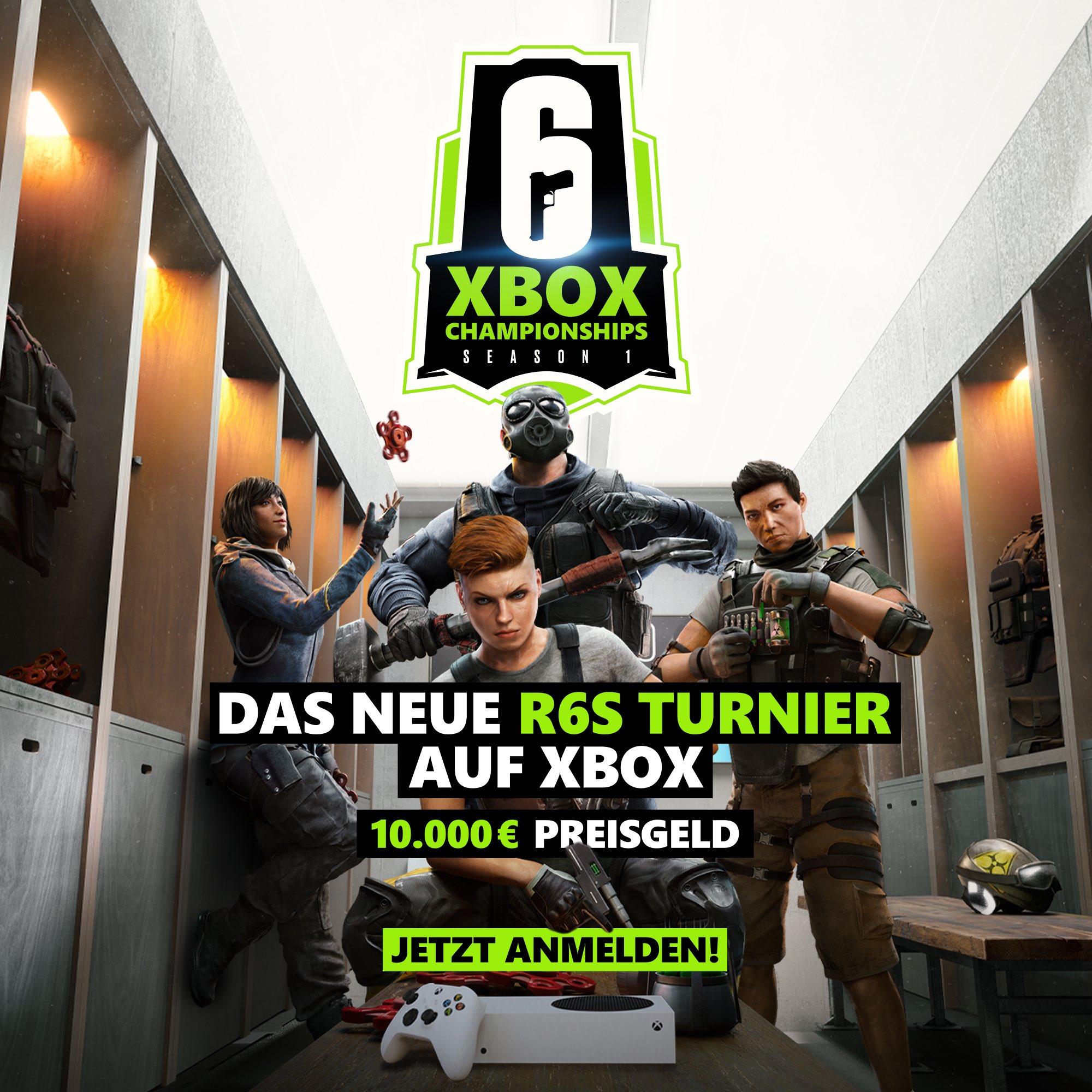 News Grafik Xbox Championships Season 1 in Rainbow Six: Siege - Nachbericht